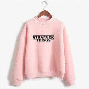 Hoodies Stranger Things Women Hoodie Fleece Harajuku Sweatshirts Autumn Winter Hip Hop Letters Print Hoodies Sweatshirt