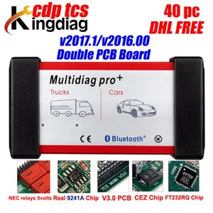 Multidiag Pro+ obd2 scanner for car trucks NEC 9241A chip 2020.R3 keygen CDP TCS Diagnostic Tools for auto DHL free shipping