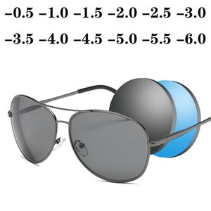 Diopter SPH 0 -0.5 -1 -1.5 -2 -2.5 -3 -3.5 -4 -4.5 -5 -5.5 -6.0 Finished Myopia Sunglasses Men Women Nearsighted Glasses