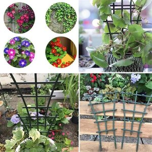 Plant Stand Rack Diy Plastic Agriculture Plant Stand Rack Climbing Flower Fixed Plant Growth Rack Trellis Support Garden Tools yxlHAa