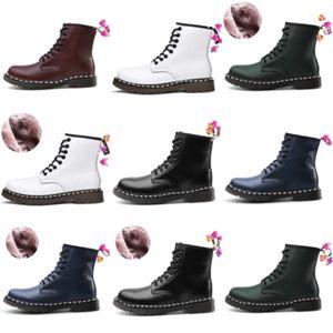Плюс размер EUR48 зимние снежные ботинки для женщин Утолщение хлопчатобумажных плюшевых кружев на снегу середины теленок сапоги 2020 новый индивидуальный, хаки, белый # 7033222