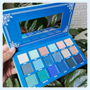 Five Star Cremated palette 18 Colors Blue Blood Eye shadow Long Lasting Shimmer Matte eye shadow palettes DHL Free shipping