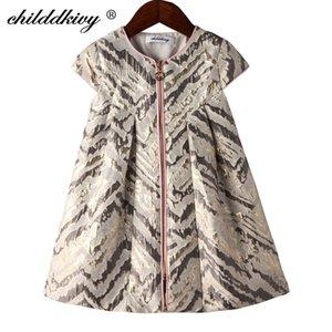 Childdkivy Girls A-Linie Kleid Frühling Baby Mädchen Prinzessin Kleid Kinder Partykleider für Mädchen Kinder Mode Kleidung T200709
