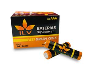 Pilas Triple A Baterias Aaa Paquete De Pilas 24pzas