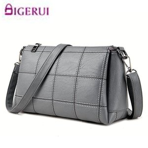 Fashion Women Plaid Flap Messenger Bags Bolsa Feminina Crossbody Bags Handbags Famous Brands Shoulder Bag For Female Hand Bag