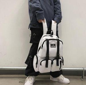 2020 Man Backpack Large Capacity High School College Students Backpack Girls Travel Bag Multiple Pockets Lovers Bag