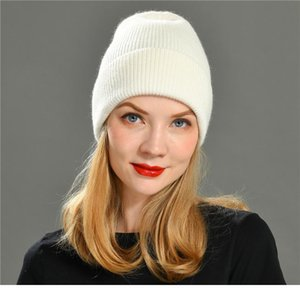 Knitted Beanie Hat Women Warm Spring Autumn Wool Knitting Caps Fashion Hot Selling Ladies Striped Skull jllqkZ