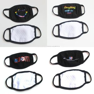 Cara anti-polvo de la nave! En Er polvo DL acción !!! anti PM2,5 Gratuito Anti-L Negro máscaras a prueba de polvo Cuidado Esponja rosada lavable Boca Máscara del gris # 337 Fa Hana