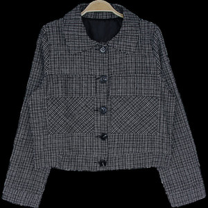 2021 New Womens Single Brested Button Plaid Overshirts Long Sleeve Shirt Jackets Coats Shacket Outerwearss V565
