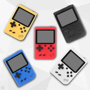 الفيديو المصغرة المحمولة لعبة وحدة التحكم المحمولة ريترو 8 بت نموذج يمكن تخزين 400 في 1 AV اللون LCD لاعب لعبة لعبة