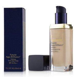 Top qualidade futurista do Aqua Brilliance maquiagem Base líquida Teint Eclat do Aqua 30ml 1C0 2C0 1C1 1WO