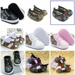 طفل رضيع أحذية أحذية الخريف الصلبة للجنسين سرير أحذية الرضع PU جلد الأحذية طفل الأخفاف طفلة الأولى ووكر أحذية