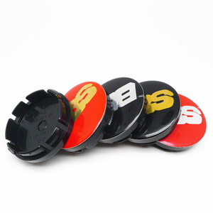 4pcs 56mm For BBS Car Wheel Center Hub Cap Covers Emblem Badge Auto Styling Accessories