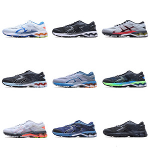 şirket sınıfı spor jel Kayano koşu ayakkabıları 26 erkek kadın şok emme