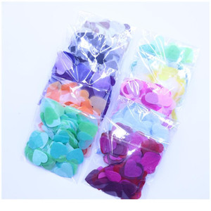 10g Per Bag 1 Inch Tissue Paper Heart Confetti Filling Balloons Baby Shower Wedding Birthday Party Table Dec bbyywB