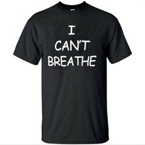 I Cant Breathe T-Shirt Protest Tee Black Lives Matter Size S-5XL for Man Women T-shirts Tee Top