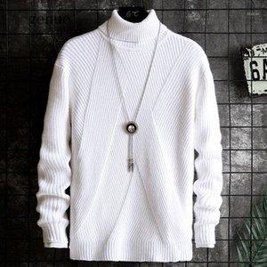 Негабарит мужской свитер 2020 свитеры для мужчин свитер мужской коврики вскользь повседневная осень зима мужская мода мода Turtleneck Uyuk Man1