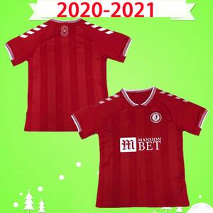 20 21 Bristol Weimann City Soccer Jerseys 2020 2021 Mawson Martin Diedhiou Paterson Wells Massengo Kalas Kalas Dasilva Camisetas De Fútbol Rojo