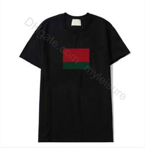 2021 Совершенно новый хип-хоп Мужская футболка с коротким рукавом Уличная одежда Хлопчатобумажная рубашка Poloshirt Мужчины Женщины Топы Тис дизайнер Мужские футболки Мужская одежда