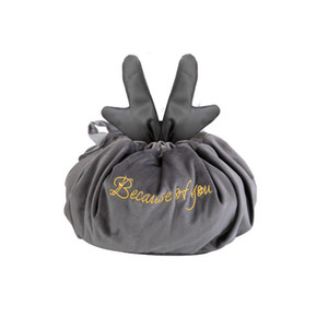 Toiletrie Bag Antler Lazy Makeup Bags Woman Portable Drawstring Storage Bag Travel Household Items Organization 100 p2