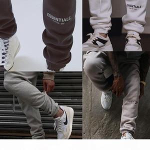 Fear Of God FOG Essentials Pants Reflective Embroidery Sweat Pants Men Women Brand Designer Casual Long Pants Hip Hop Skateboard Streetwear