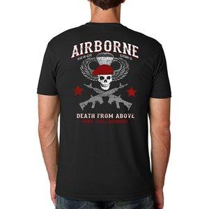 Kühlen neuer Sommer Dead Or Alive Kleidung Airborne Armee 173rd Airborne Besatzung Short Sleeve Lustig Sport mit Kapuze SweatshirtHoodie Männer T-Shirt