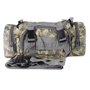 ACU US Army MOLLE panel 3 functions tactical Waist Sport Bag Ultra-light Hunting Soldier tactical Waist Camouflage Bag