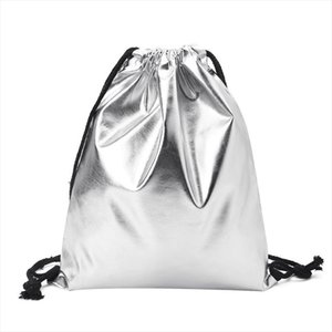 Fashion PU Backpack Women 2018 New Leather Backpack Fashion Outdoor Drawstring Bags School Bags for Teenagers Sack Cinch Bags