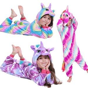 الأطفال الطفل الكرتون منامة النوم منامة الفتيان الفتيات ملابس الاطفال بطانية البيجامات infantil pyjamas أطفال 201104