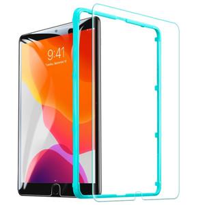 iPad 에어 / 에어 2 / Pro 용 크리스탈 클리어 강화 유리 스크린 프로텍터