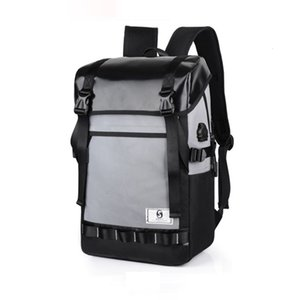 2019 Men And Women Fashion Oxford Luminous High-capacity School Bag Travel Casual Daypack With USB Charging Waterproof Bags