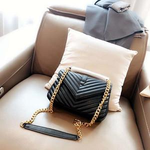 2020 heißen Verkauf klassische Kette Dame Umhängetasche trendige Mode Qualitätsqualitäts- Leder-Umhängetasche tragbare Dame Einkaufstasche