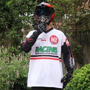 Motocicletta veloce Arrendosi Bicycle Riding Suita Poliestere Quick Asciugatura Tuta da uomo Cross-Country Countrycle Motorcycle Racing Suit manica lunga