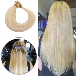 Real Human Hair Nano Ring Hair Extensions Machine Remy Pre-bonded Straight Nano Tip Indian Hair 1g s 50pcs