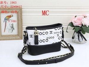 NEW styles Handbag MC Famous Name Fashion Leather Handbags CH Women Tote Shoulder Bags Lady Leather Handbags M Bags purse mc1963
