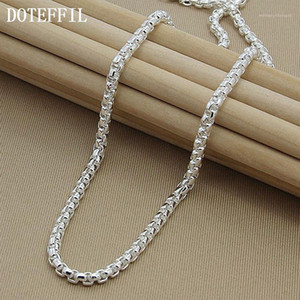 Necklace Chain Silver Necklace 925 Silver Fashion Sterling Jewelry Link Chain1