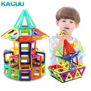 Kacuu Big Size Magnetic Block Designer Constructor Set Modellbau Technic Magnete Spielzeug-Bausteine Spielzeug für Kinder qylESa mywjqq