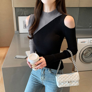 New China luxury female designer sweater vintage classic luxury sports embroidery round neck comfortable high quality jumper