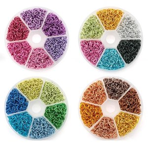 6mm Colorful Aluminum Open Jump Rings Split Rings Connectors For Necklace Bracelet Diy Jewelry Making Accessories 108 qylqdE