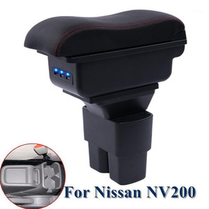For NV200 armrest box car-covers central Store content box cup holder ashtray decoration products accessory armrest1