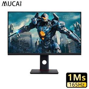 MUCAI 27 Inch PC Monitor 165Hz IPS Lcd Display HD Gaming Desktop Computer Screen Flat Panel HDMI DP