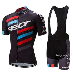 2020 i più nuovi nuovo più nuovo Felt Pro Cycling Jersey della bici breve Set Mtb Ropa Ciclismo Pro Cycling Wear Mens Bicicletta Maillot Culotte