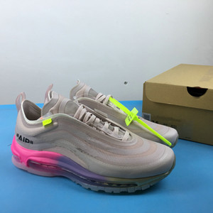 Menta 97S OG Shoes Serena Williams Women Black Cone Grey off 97 Triple Black White Breathable Sneakers