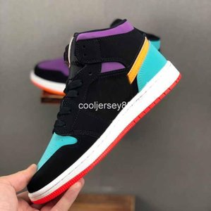 High Shoes 2020 Og Basketball Designer 1s 1 Mid Low Gs Black Mandarin Duck Trainers Women Mens Sneakers Baskets Zapatillas Schuhe Zap
