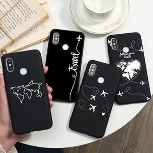 Cute Capa For Xiaomi Redmi Mi Note 5 5A 4X 6 7 10 8T K20 K30 A3 9 8 Lite Pro SE S2 Pocophone F1 Silicone TPU Cover Case