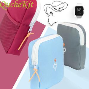 Electronic accessories storage bag \ \ \ 124; travel bag, portable USB Digital Gadget bag, electronic accessories organizer, storage bag