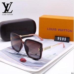 femmes sunglasse polarisants luxe Mens Designer Lunettes de soleil sans monture plaqué or Cadre Carré Marque Lunettes de soleil Lunettes de mode avec étui