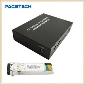 Fiber Optik Ekipmanları 10G SFP + SFP modülü olmadan / olmadan UTP Converter Media'ya