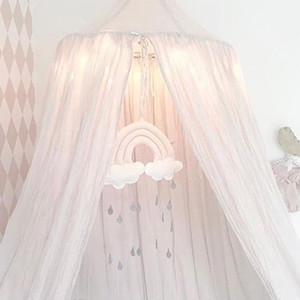 Bed hanging toys Baby Crib Tent Mobile Hanging Room Fabric Accessories Cute Gifts Photography Decoration Cloud Raindrop Props Nursery yy