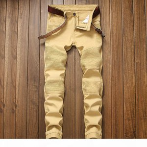 New Fashion Boutique Stretch Casual Mens Jeans Skinny Jeans Men Straight Mens Denim Male Stretch Trouser Pants 7